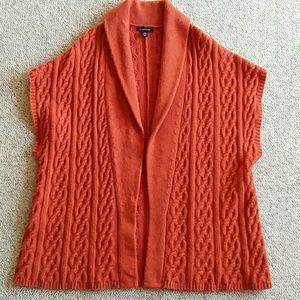 Lands End plus burnt orange sweater